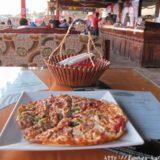 断酒主婦はるかが撮ったエジプトダハブで食べたピザ