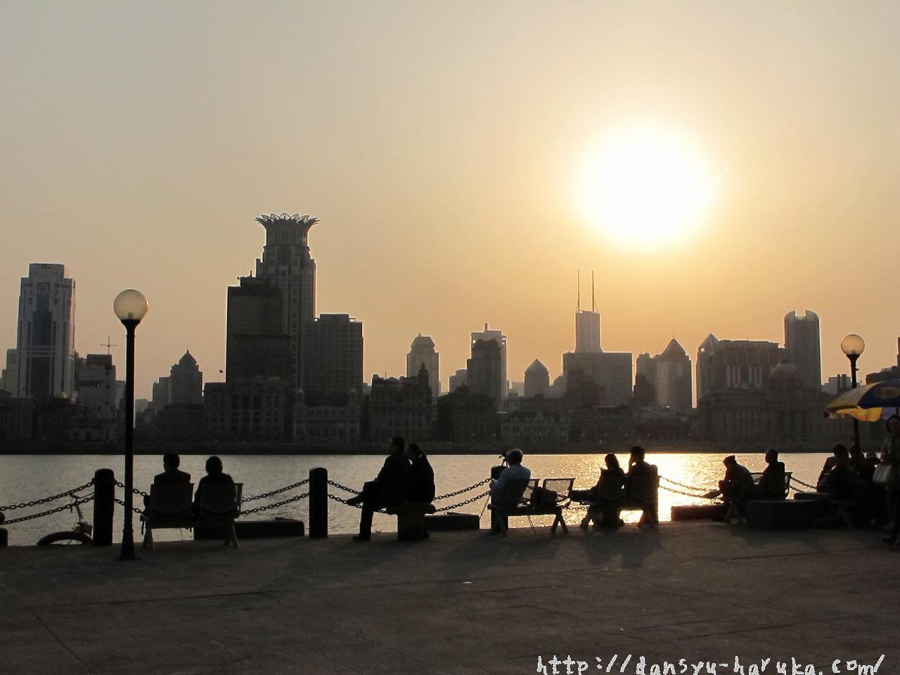 断酒主婦はるかが撮った上海の景色