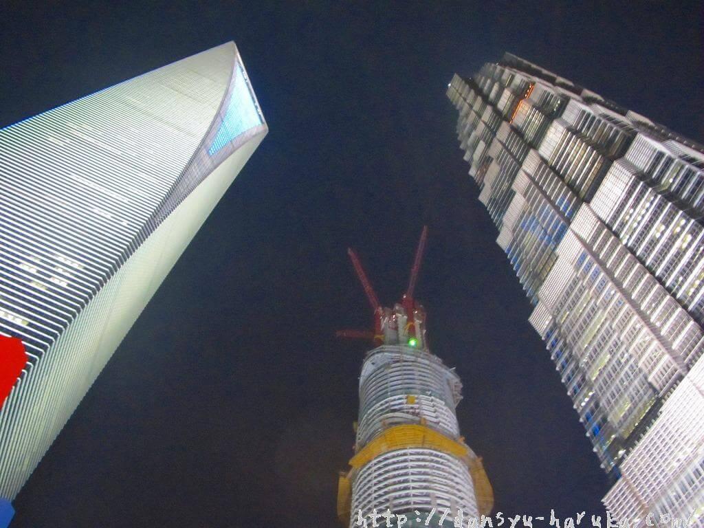 断酒主婦はるかが撮った上海のビル