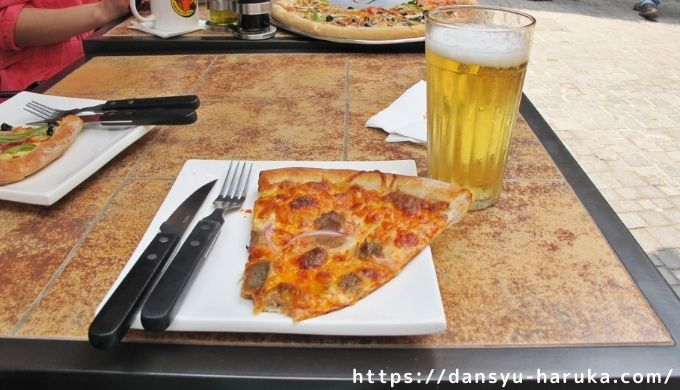 断酒主婦はるかが撮ったピザ